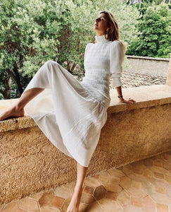 Corsica Long Dress White