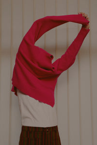 Nat Double Cashmere Fuschia