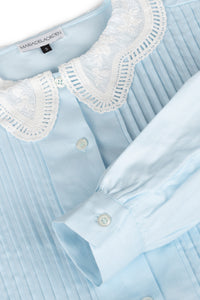 Bloom Shirt Light Blue