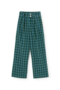 Chesnut Pants Green Check