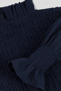 Corsica Long Dress Navy