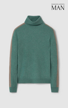 Load image into Gallery viewer, Edward Turtleneck Sweater Green