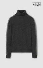 Load image into Gallery viewer, Edward Turtleneck Sweater Grey
