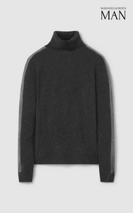 Edward Turtleneck Sweater Grey