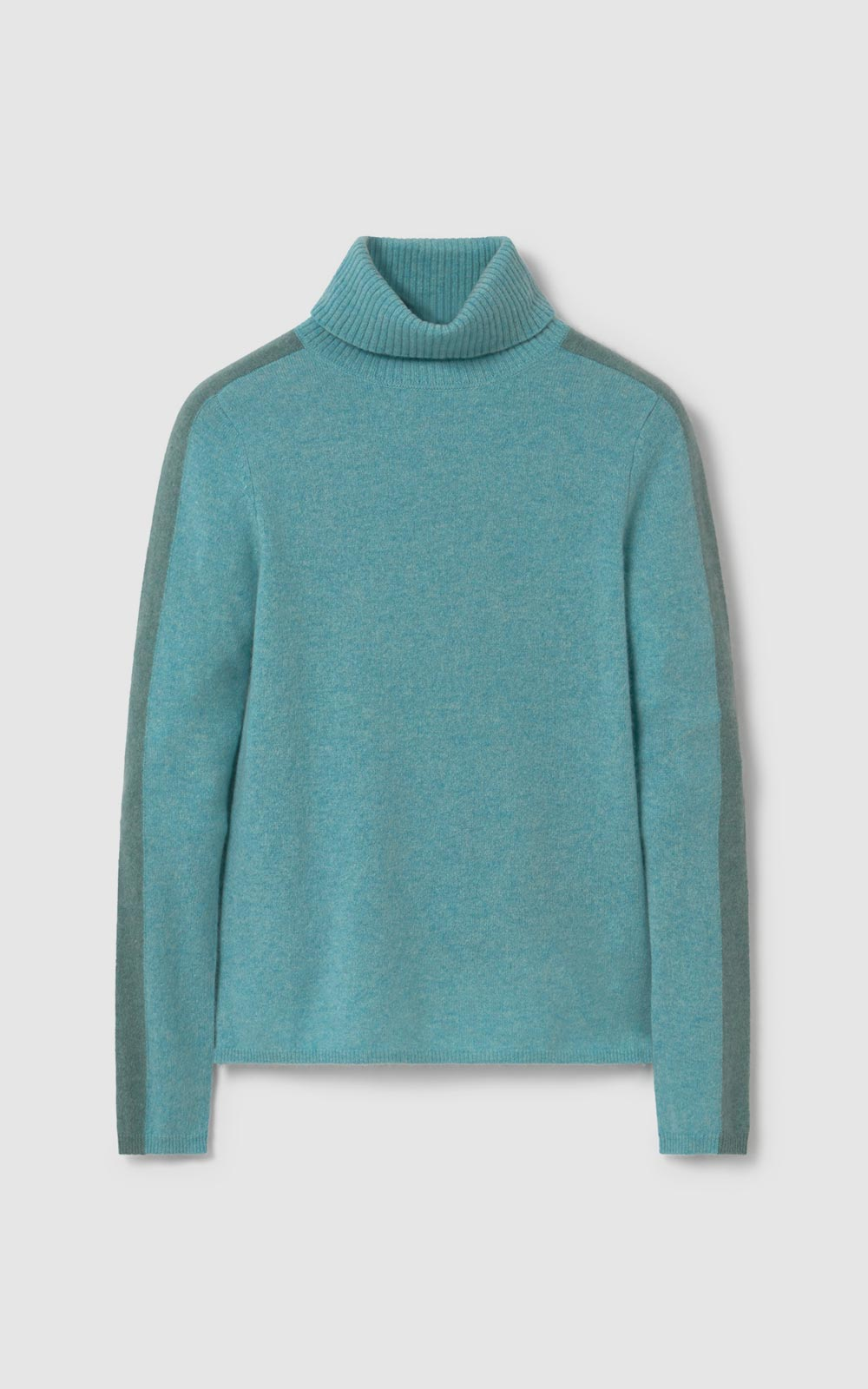 Tree Turtleneck Sweater Blue