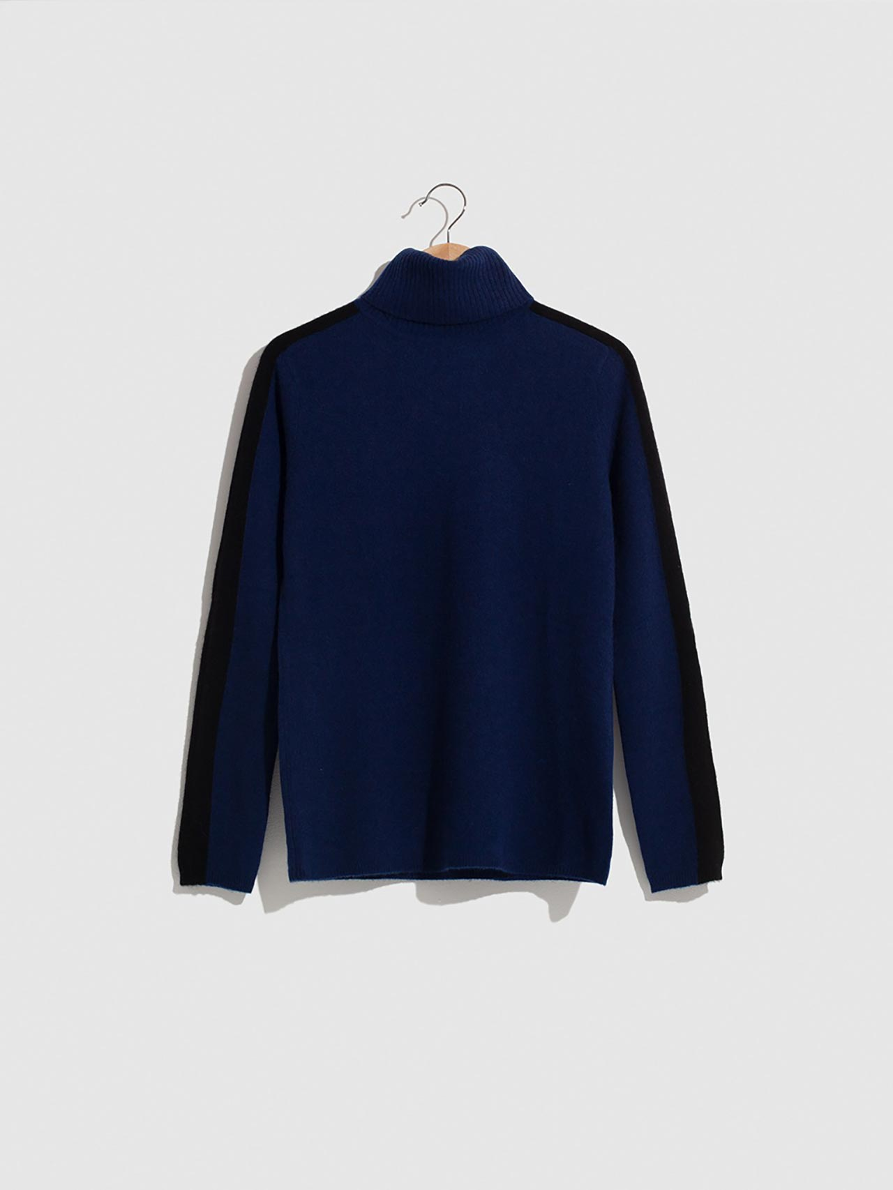 Tree Turtleneck Sweater Navy