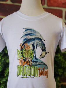 I'm the reason mommy's Dragon t shirt