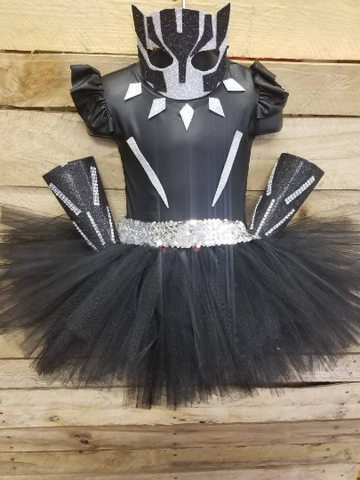 Black Panther tutu costume