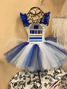 r2d2  tutu dress , Star Wars birthday