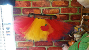 Snow White costume tutu with matching headband