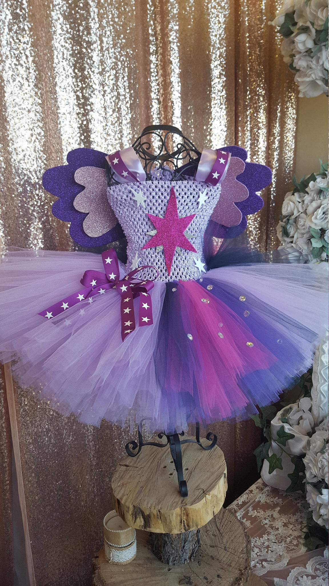 Twilight Sparkle tutu, my little pony tutu, pony tutu, Twilight Sparkle  costume. My little pony birthday party, MLP tutu,