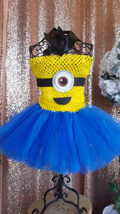 Minion tutu, minion costume, minion birthday