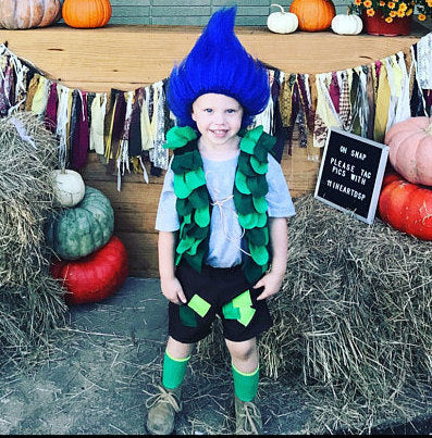 Branch costume, trolls branch, boys troll costume, branch troll, troll branch,troll birthday, branch birthday, poppy birthday