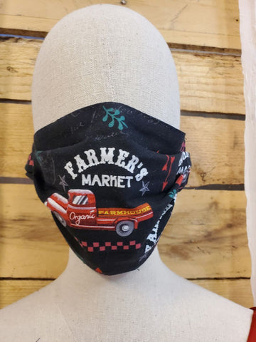 Adult farmers market mask