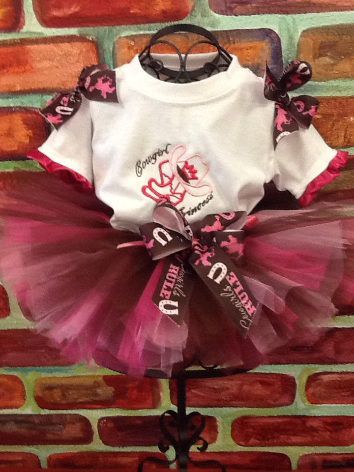 Cowgirl tutu set, rodeo tutu, rodeo birthday, pink rodeo outfit