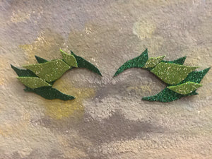 Poison ivy eye mask and hair clip in stock ready to ship