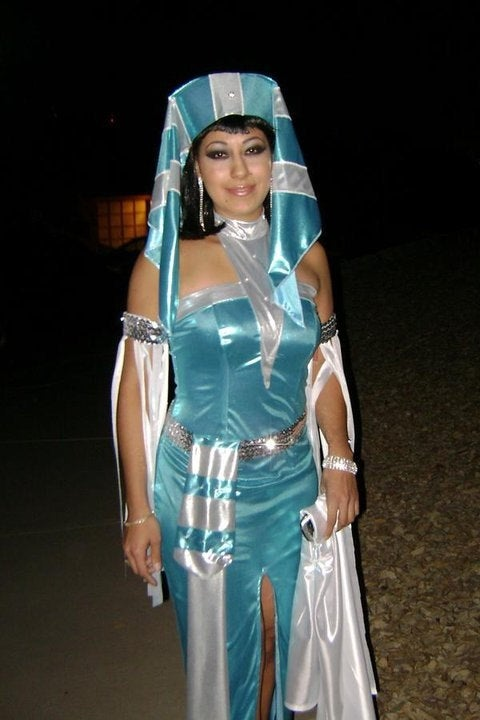 Queen of the Nile / Egyptian princess costume