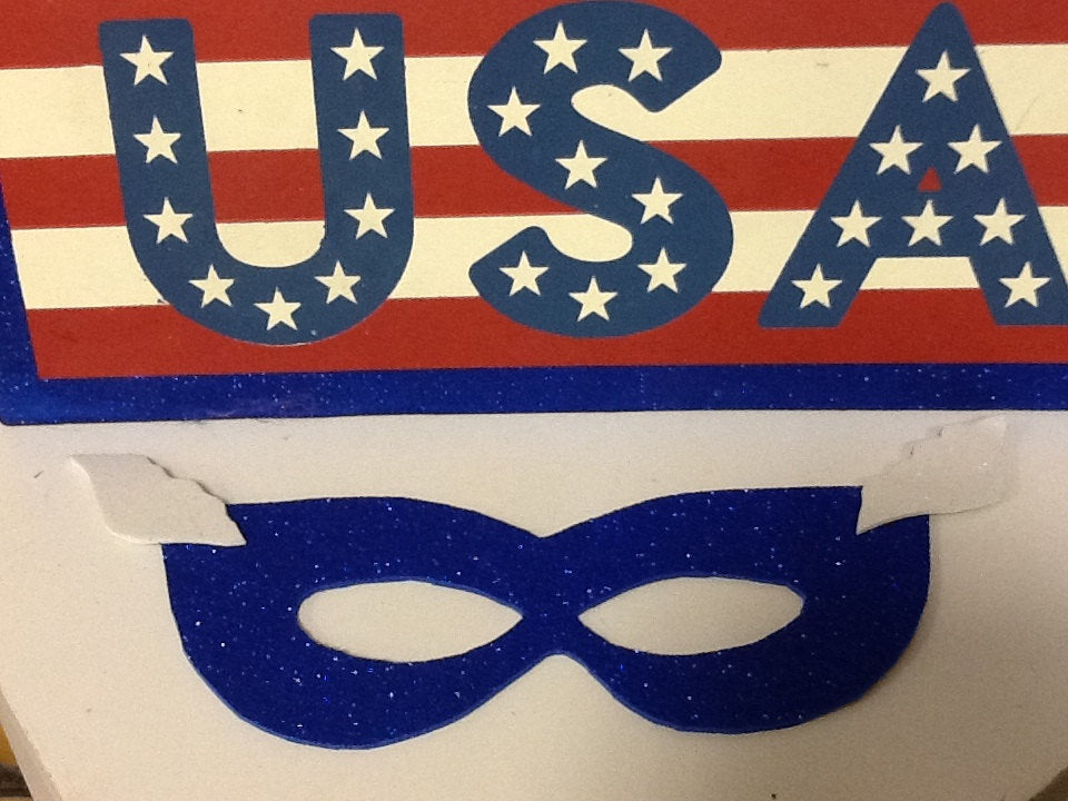 Captain America mask for adult