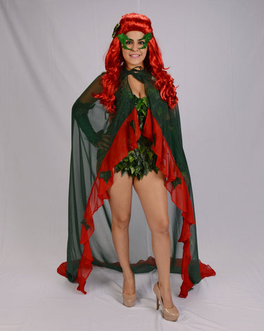 Uma Thurmaninspired  Poison Ivy  leotard costume