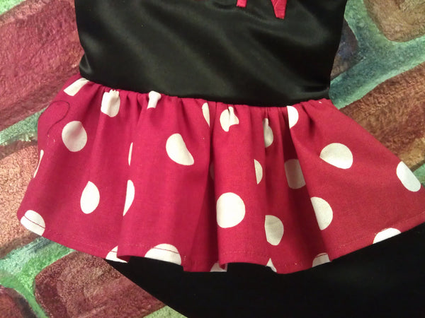 Minnie Mouse inspired Christmas Stocking