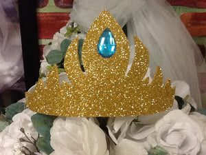 In stock ready to ship queen Elsa gold crown
