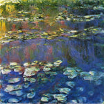 Blooming Water Lilies - AI Art Shop