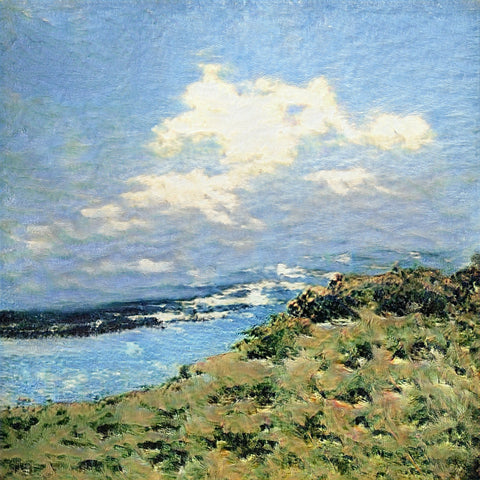 Cliff in the Gulf of Saint Tropez - AI Art Shop