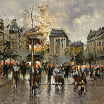 Early Evening in Paris - AI Art Shop