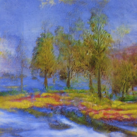 Misty Morning - AI Art Shop