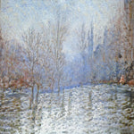 Misty Morning in the Park - AI Art Shop