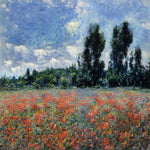 Poppy field in Sussex - AI Art Shop