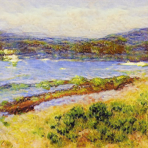 Spring on Loch Nevis - AI Art Shop