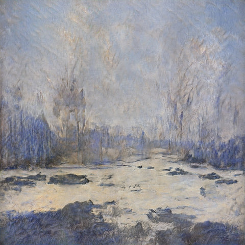 Winter Landscape - AI Art Shop