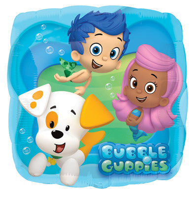 Bubble Guppies Globo Metalico 18