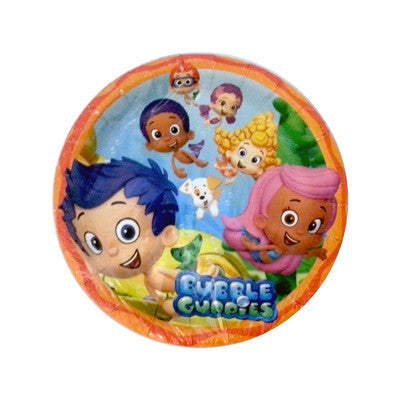Bubble Guppies Plato Pastelero