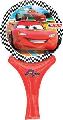 Cars Globo Metalico 9 Inflate-a-fun