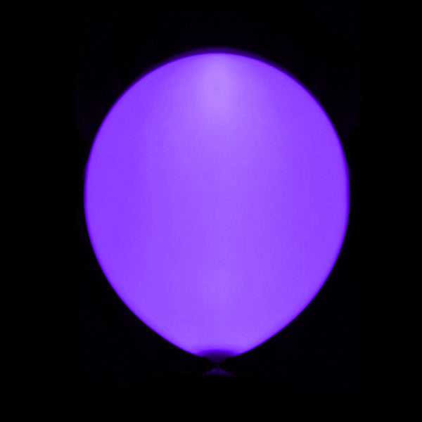Globo Led Lila Latex