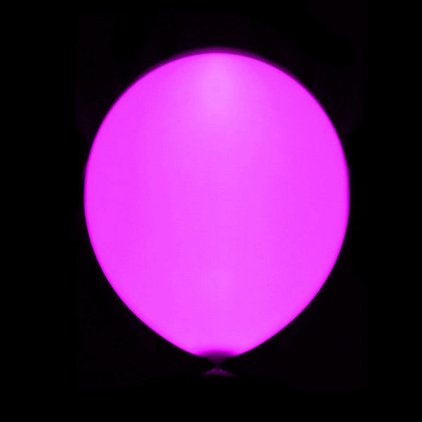 Globo Led Rosa Latex
