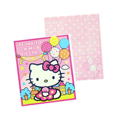Hello Kitty Invitacion
