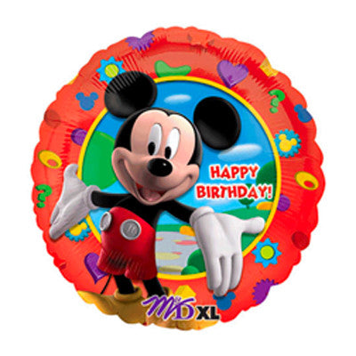 Mickey Mouse Globo Metalico 18