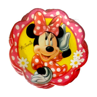 Minnie Mouse Plato Pastelero