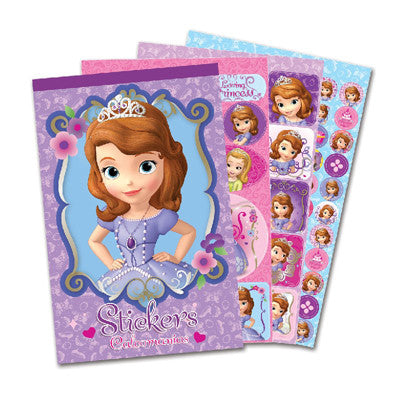 Princesita Sofia Block de Stickers