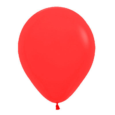 Rojo Globo Latex 12