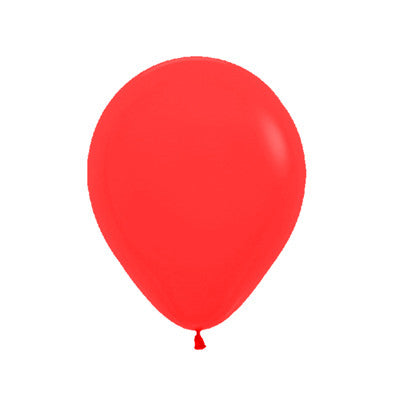 Rojo Globo Latex 9