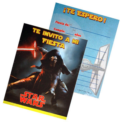 Star Wars Invitacion