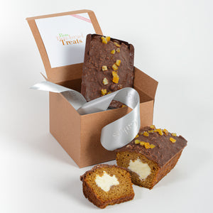Pumpkin Chocolate Spice Cakes - limited edition (2 per order)