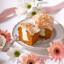 Load image into Gallery viewer, Spring Carrot Cake with Toasted Coconut (2 mini loaves)