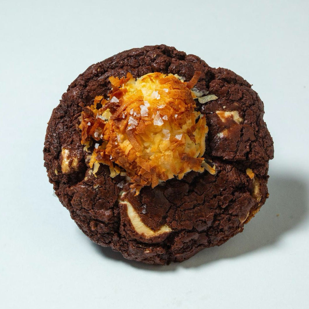 Gluten Free Double Chocolate Coconut cookie