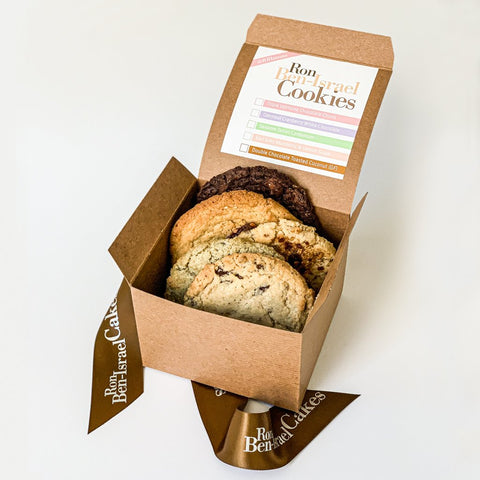 The Ultimate GLUTEN FREE Cookie Variety Box (ALL 5 TYPES)