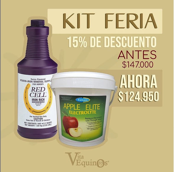 KIT DE FERIA (Red Cell + Electrolitos 2 libras)